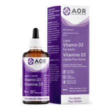 Load image into Gallery viewer, AOR Vitamin D3 Liquid (Adult) 50ml