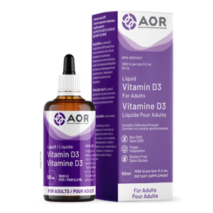 AOR Vitamin D3 Liquid (Adult) 50ml