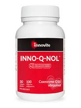 Load image into Gallery viewer, Innovite INNO-Q-NOL® (CoQ10 Ubiquinol) 100mg 60 Softgels