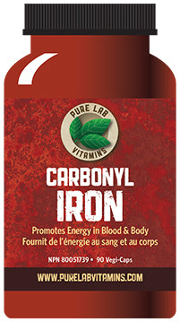Pure Lab Carbonyl Iron 90 Capsules