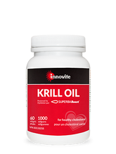 Load image into Gallery viewer, Innovite Krill Oil Omega-3 500mg 60 Softgels