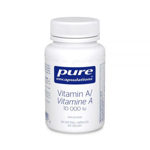 Pure Encapsulations Vitamin A 10 000 IU