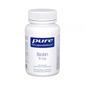 Pure Encapsulations Biotin 8 mg 120 Capsules