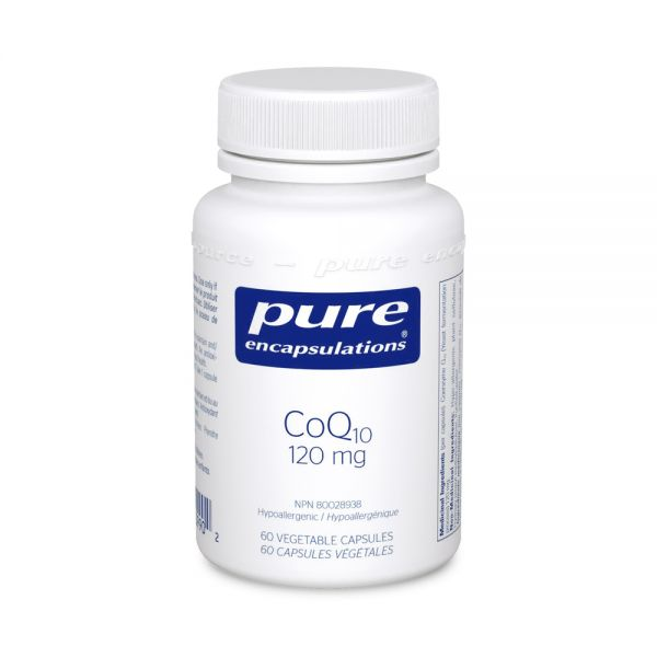 Pure Encapsulations CoQ10 120 mg 60 Capsules