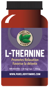 Pure Lab L-Theanine 250mg 60 Capsules