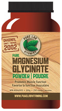 Load image into Gallery viewer, Pure Lab Magnesium Glycinate Powder 200g
