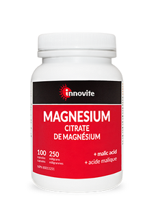 Innovite Magnesium Citrate 250mg with Malic Acid 200 Capsules
