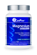 Load image into Gallery viewer, CanPrev Magnesium Multi Mineral 120 Capsules