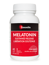 Load image into Gallery viewer, Innovite Melatonin Sustained Release 3mg 60 Capsules