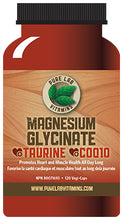 Load image into Gallery viewer, Pure Lab Magnesium Glycinate + Taurine + CoenzymeQ10 120 Capsules