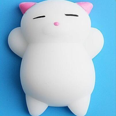 Squishy Toy Cute Animal Ball Squeeze Toys Soft Sticky Squishy Toys Funny Gift-Children's Toys-Pink Cats-Oddity Odyssey