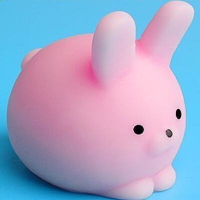 Squishy Toy Cute Animal Ball Squeeze Toys Soft Sticky Squishy Toys Funny Gift-Children's Toys-Pink Rabbit-Oddity Odyssey
