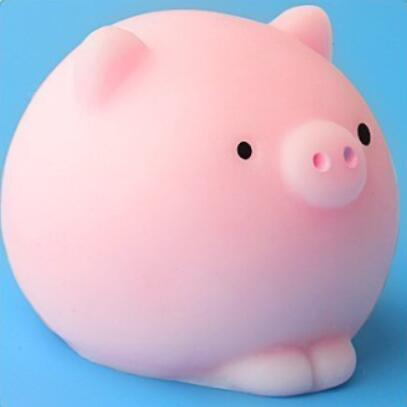 Squishy Toy Cute Animal Ball Squeeze Toys Soft Sticky Squishy Toys Funny Gift-Children's Toys-Pink Pig-Oddity Odyssey