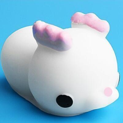 Squishy Toy Cute Animal Ball Squeeze Toys Soft Sticky Squishy Toys Funny Gift-Children's Toys-White deer-Oddity Odyssey