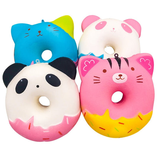 Jumbo Chocolate Biscuits Cheese Cute Squishy Slow Rising Soft Squeeze Toy Phone Strap Scented Relieve Funny Kid-Children's Toys-random color-Oddity Odyssey
