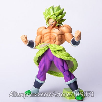 Dragon Ball Super God Saiyan Broly Anime Action Figure DragonBall Model-Oddity Odyssey-BLLjiuji-Oddity Odyssey