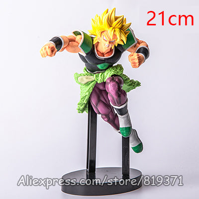 Dragon Ball Super God Saiyan Broly Anime Action Figure DragonBall Model-Oddity Odyssey-BLL2019huangfa-Oddity Odyssey