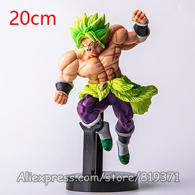 Dragon Ball Super God Saiyan Broly Anime Action Figure DragonBall Model-Oddity Odyssey-BLL2019wuyi-Oddity Odyssey