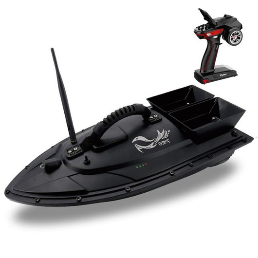 Flytec 2011-5 / V007 / V500 Electric Fishing Bait RC Boat 500M Remote Fish Finder 5.4km/h Double Motor Toys Kit / RTR Version-1967 Children's Toys-V500-Russian Federation-Oddity Odyssey