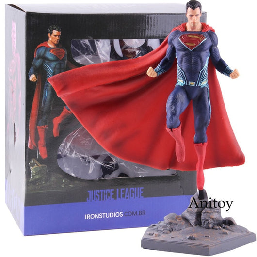 DC Superman Figure IRON STUDIOS Justice League Superman Action Figure Super Man PVC Collectible Model Toy-Oddity Odyssey-Oddity Odyssey