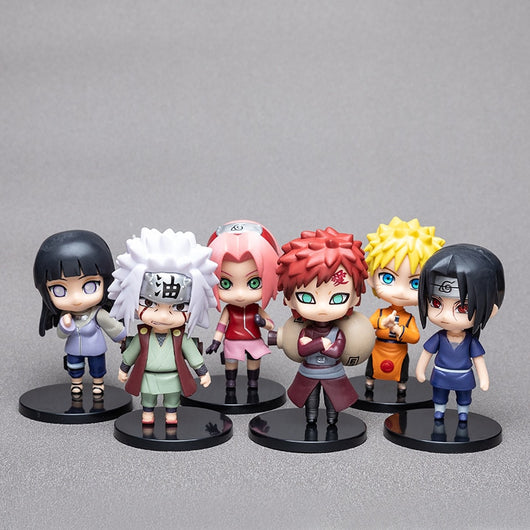 1pcs10cm Anime Figure Naruto Sasuke Kakashi Sakura Gaara Itachi Obito Madara Killer Bee Mini Model js-Oddity Odyssey-Z1-Oddity Odyssey