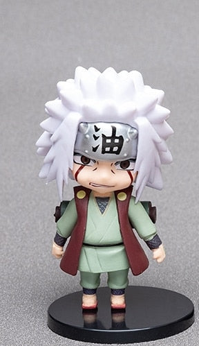 1pcs10cm Anime Figure Naruto Sasuke Kakashi Sakura Gaara Itachi Obito Madara Killer Bee Mini Model js-Oddity Odyssey-Z4-Oddity Odyssey
