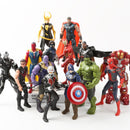 Marvel Avengers 3 infinity war Movie Anime Super Heros Captain America Ironman thanos hulk thor Superhero Action Figure Toy-1967 Children's Toys-captain-Oddity Odyssey
