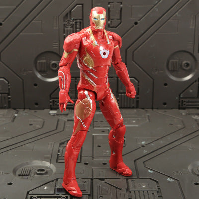 Marvel Avengers 3 infinity war Movie Anime Super Heros Captain America Ironman thanos hulk thor Superhero Action Figure Toy-1967 Children's Toys-ironman-Oddity Odyssey