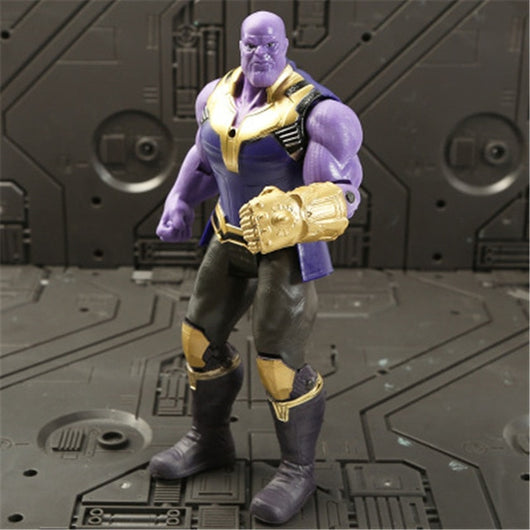 Marvel Avengers 3 infinity war Movie Anime Super Heros Captain America Ironman thanos hulk thor Superhero Action Figure Toy-1967 Children's Toys-Thanos-Oddity Odyssey