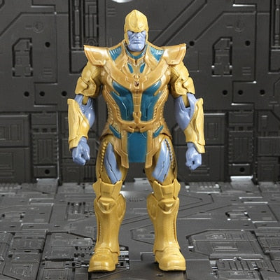 Marvel Avengers 3 infinity war Movie Anime Super Heros Captain America Ironman thanos hulk thor Superhero Action Figure Toy-1967 Children's Toys-Thanos 2-Oddity Odyssey