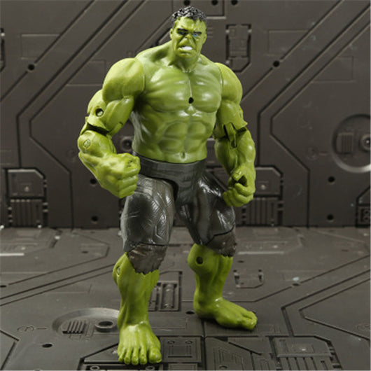 Marvel Avengers 3 infinity war Movie Anime Super Heros Captain America Ironman thanos hulk thor Superhero Action Figure Toy-1967 Children's Toys-hulk-Oddity Odyssey