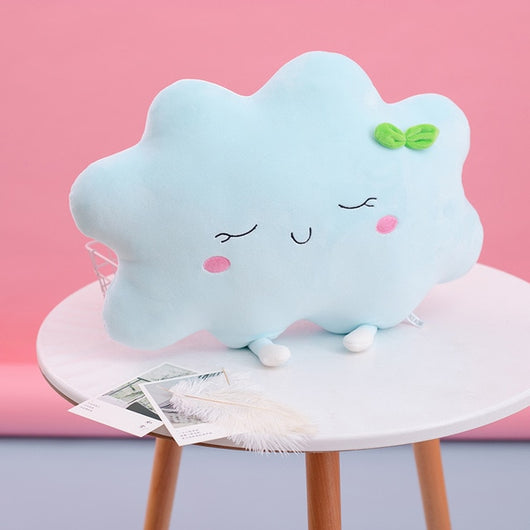 Cute Sun Cloud Plush Pillow Stuffed Soft Creative Plush Sun Cloud Toy Car Pillow Home Decor Kids Toys-Children's Toys-35cm 2-Oddity Odyssey