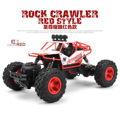 1:12 4WD RC Car Updated Version 2.4G Radio Control RC Car Toys remote control car Trucks Off-Road Trucks boys Toys for Children-Children's Toys-27cm red-Russian Federation-Oddity Odyssey