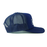 Yalla Collective-Detroit Navy Blue Baseball Cap