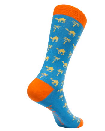Halal Socks Adult- Blue Desert