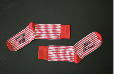 Habibi Socks- Red Kuffiyeh