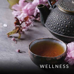 Blog category image of Japanese tea service with pink blossoms