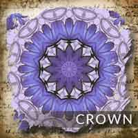 Crown seventh chakra - Sacred Skaia handcrafted artisan jewelry malas