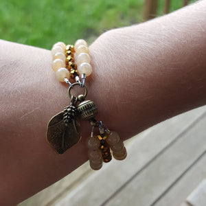 Golden Riches Citrine Bracelet - Sacred Skaia