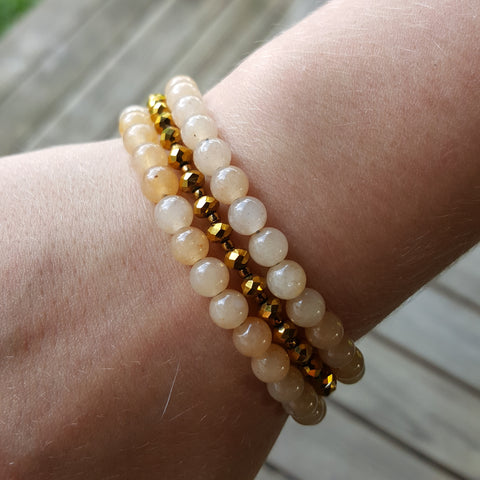 Golden Riches Citrine Bracelet