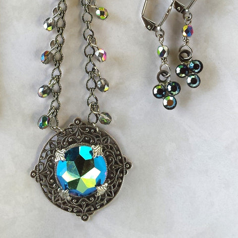 Sophia Necklace and Earring Set