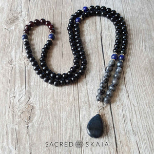 Custom mala for Deepa's dad