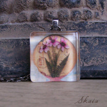 Ferns and Flowers Necklace - Sacred Skaia