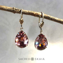 Fortuna Teardrop Earrings in Ruby - Sacred Skaia