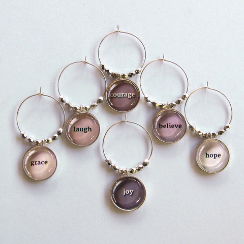 Grace Notes 1 Wine Charms