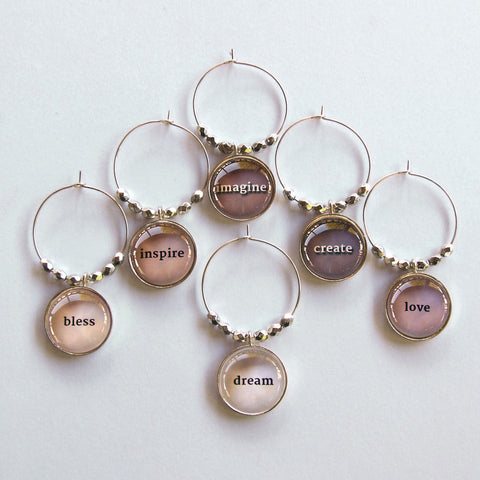 Grace Notes 2 Wine Charms