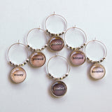 Inebriation 2 Wine Charms