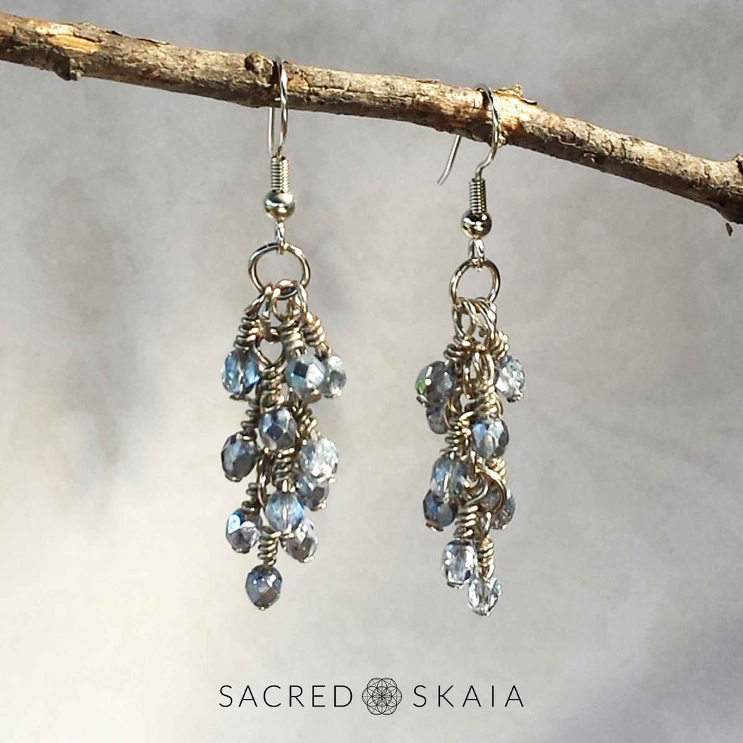 Layla Chandelier Earrings - Sacred Skaia