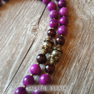 Peace and Creativity Mala - Sacred Skaia