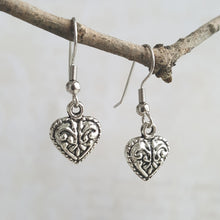 Sensual Goddess Heart Earrings - Sacred Skaia